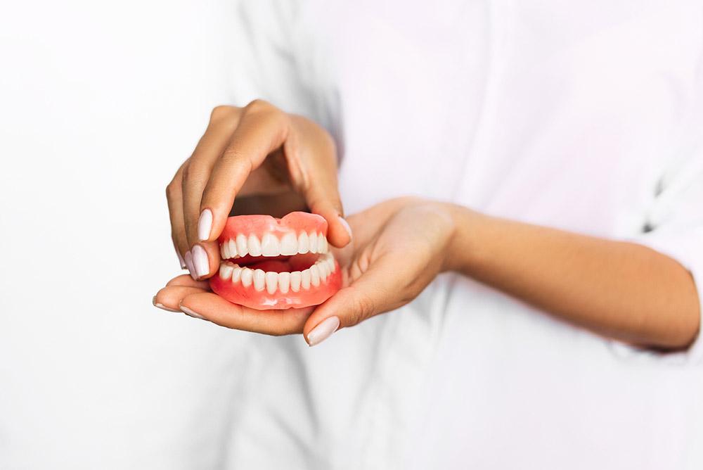 Tandprothese / kunstgebit